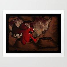 By Demons Be Driven Art Print