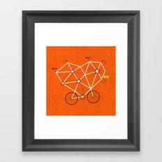 Lovecycle Framed Art Print