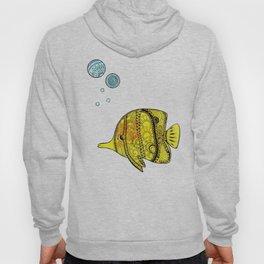 Yellow Fish Hoody