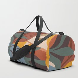 Abstract Art Jungle Duffle Bag