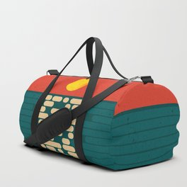 Sun Over The Sea - Afternoon Duffle Bag