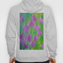 Purple Cone Flower (Echinacea) Hoody