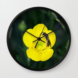 Sleepytime Bee Wall Clock