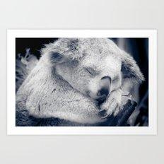 Sleepy Art Print