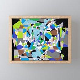 My World is Shattered Framed Mini Art Print