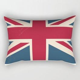 Great Britain Rail poster Rectangular Pillow