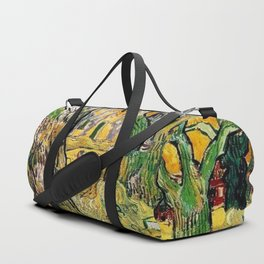 Road Works at Saint-Remy by Vincent van Gogh Duffle Bag