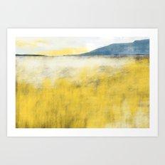 Her far horizon  Art Print