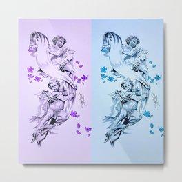 Baby Angels Metal Print