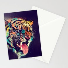 FEROCIOUS TIGER Stationery Cards