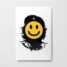 Smiley Che Metal Print