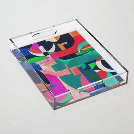 Collage VI Acrylic Tray