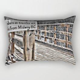 This way Rectangular Pillow