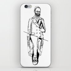 MENBEARD VS MENRAPPEUR iPhone & iPod Skin