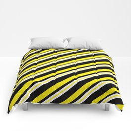 TEAM COLORS 1...double yellow,black and white. Comforters