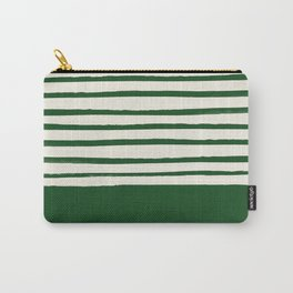 Holiday x Green Stripes Carry-All Pouch
