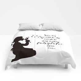 Reading Fairytales, CS Lewis Quote Comforters