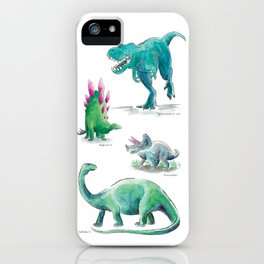 Dino Days iPhone Case