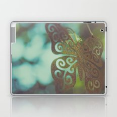 Bokeh With Butterfly Wings Laptop & iPad Skin
