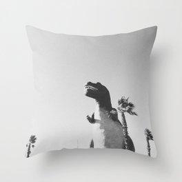 DINO / Cabazon Dinosaurs, California Throw Pillow