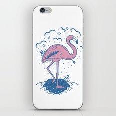 Tropical Paradise Flamingo iPhone & iPod Skin