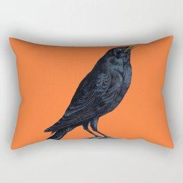 Vintage Raven Rectangular Pillow