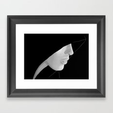 Veiled Framed Art Print