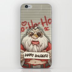 Busted Xmas iPhone & iPod Skin