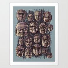 The Olmecs Art Print