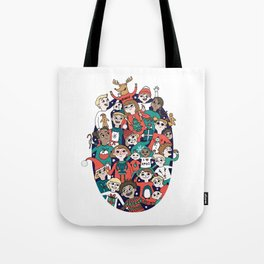 Christmas Kiddiwinks Tote Bag