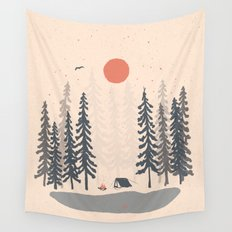 Feeling Small in the Morning... Wall Tapestry