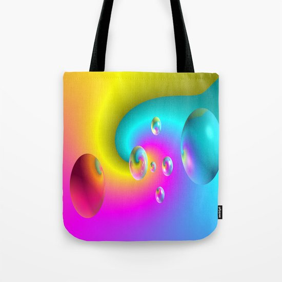 Paintballs Tote Bag