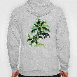 Snake Palms - Green Hoody