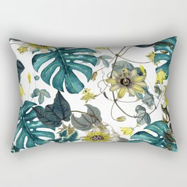 Tropical Flowers V Rectangular Pillow