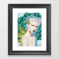 Fairy trip Framed Art Print