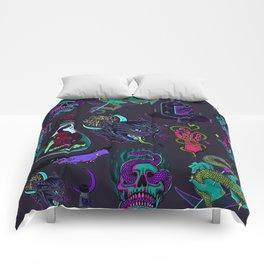 Neon Demons Comforters