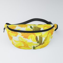 Spring Breeze With Yellow Flowers #decor #society6 #buyart Fanny Pack