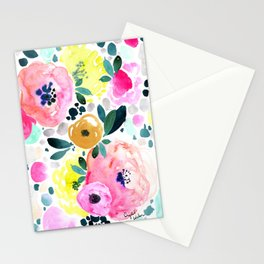 Wake Up Floral Stationery Cards