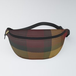 Christmas Plaid 10 Fanny Pack