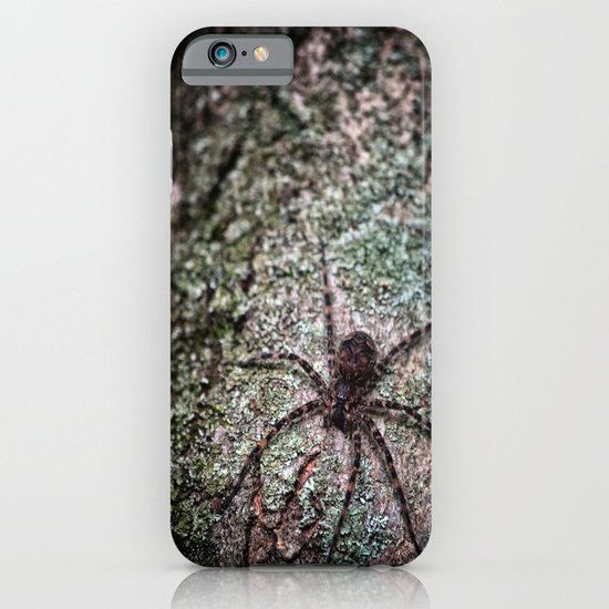 Creepy Spider iPhone & iPod Case