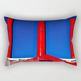 The Red Factory Rectangular Pillow