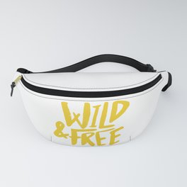 Wild and Free - Sunshine Fanny Pack