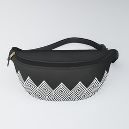 Bounty Hunter Black and White Fanny Pack