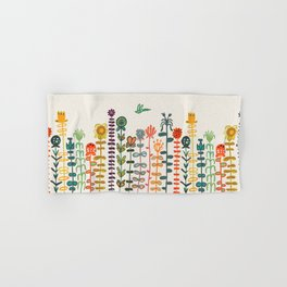 Happy garden Hand & Bath Towel