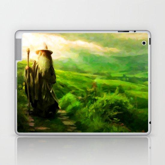 Gandalf's Return - Painting Style Laptop & iPad Skin