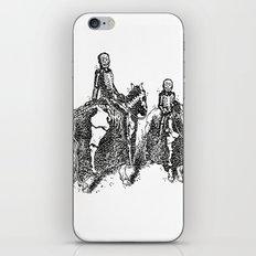 X-Ray Horsemen iPhone & iPod Skin