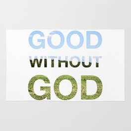 Good without God - Earth Rug