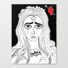 another failed romance... Canvas Print