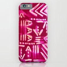 Tapa Tribal Red iPhone 6s Slim Case