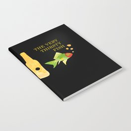 the very thirsty fish Notebook